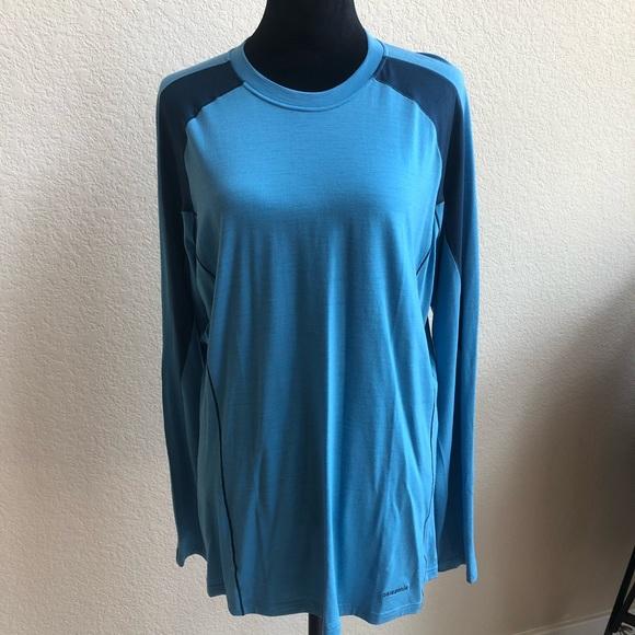 Patagonia Other - Patagonia Long Sleeve Crew Merino Large Shirt!